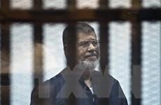Cựu Tổng thống Ai Cập Mohamed Morsi nộp đơn kháng cáo