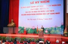 Chủ tịch nước trao Huân chương Độc lập tặng ngành kiểm sát