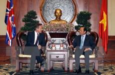 Nâng kim ngạch thương mại hai chiều Việt Nam-Anh lên gấp đôi