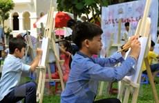 Phát động cuộc thi vẽ tranh cổ động về Tình hữu nghị Việt Nam-Cuba