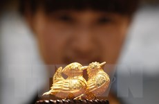 Giá vàng trên thị trường châu Á vẫn giữ vững đà tăng