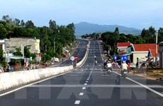 Thông xe dự án mở rộng quốc lộ 1 qua địa phận Bình Định