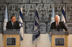 Tổng Thư ký Liên hợp quốc Ban Ki-moon bất ngờ đến thăm Israel