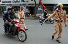 Bắt đối tượng hành hung cảnh sát giao thông tổn thương hộp sọ