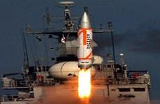 Ấn Độ thử thành công tên lửa mang đầu đạn hạt nhân tầm bắn 350km