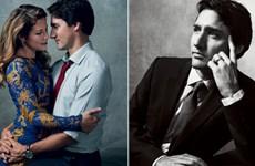 Vợ chồng Thủ tướng Canada âu yếm trên Vogue gây tranh cãi