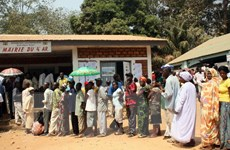 Cộng hòa Trung Phi hướng tới việc ban hành hiến pháp mới
