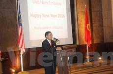 Quan hệ Việt Nam-Malaysia phát triển tích cực trong năm 2015