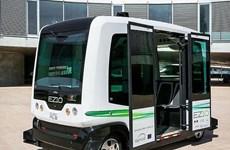 Hà Lan đưa xe buýt không người lái ra thử nghiệm trên đường bộ