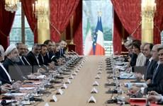 Nhiều hợp đồng được ký trong chuyến thăm Pháp của Tổng thống Iran
