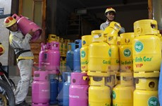 Từ 1/2, giá gas tại Thành phố Hồ Chí Minh giảm 1.708 đồng mỗi kg