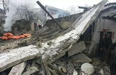 Nổ kinh hoàng tại một hộ nông dân Trung Quốc, 6 người tử vong tại chỗ