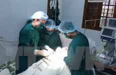 Bệnh viện đa khoa Bạch Long Vĩ cấp cứu ngư dân bị dập nát bàn tay