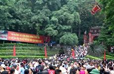 Phân luồng giao thông phục vụ Giỗ Tổ Hùng Vương-Lễ hội Đền Hùng