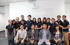 Ban điều hành mới Hội sinh viên năng động Việt Nam tại Australia