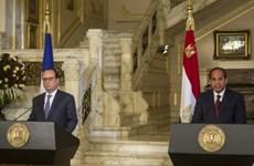 Ai Cập-Pháp ký 18 thỏa thuận hợp tác trị giá hơn 1,7 tỷ USD