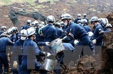 Nhật Bản: Hàng trăm người phải sơ tán do lo ngại lở đất