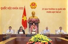 Bế mạc Phiên họp thứ 47 Ủy ban Thường vụ Quốc hội khóa XIII
