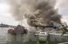 Sau vụ cháy tàu, Quảng Ninh cam kết bảo đảm an toàn cho du khách