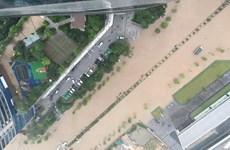 Thủ đô Hà Nội sẽ tiếp tục có mưa rào và dông trong sáng nay