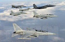 Hải quân, Không quân Hàn Quốc tiến hành tập trận chung