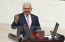 Tân Thủ tướng Thổ Nhĩ Kỳ vượt qua cuộc bỏ phiếu tín nhiệm