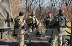 Đụng độ ở miền Đông Ukraine, 9 binh sỹ thương vong
