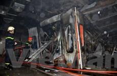 Hỏa hoạn bất ngờ tại showroom ôtô ở Thành phố Hồ Chí Minh