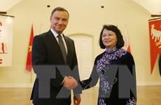 Phó Chủ tịch nước Đặng Thị Ngọc Thịnh hội kiến Tổng thống Ba Lan