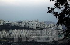 Israel phê chuẩn xây nhà định cư Do Thái tại Đông Jerusalem