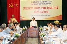 Phiên họp đầu tiên của Hội đồng tư vấn tài chính, tiền tệ quốc gia