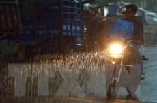 Số người chết do sét đánh và mưa lũ tại Ấn Độ tăng lên 100 người