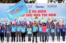 Gần 20.000 sinh viên tham gia chương trình Tiếp sức mùa thi 2016
