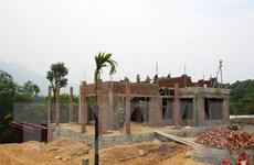 Huyện Vĩnh Bảo đo lại đất để cấp lại sổ đỏ cho các hộ dân