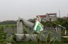 Tỉnh Ninh Bình mất điện trên diện rộng sau cơn bão số 1