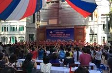 Học sinh Trưng Vương tổng kết kỳ định hướng cho học sinh lớp 6