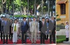 Đại sứ Việt Nam chủ trì lễ thượng cờ ASEAN tại Pakistan