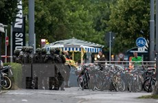 Quân đội và cảnh sát Đức phối hợp diễn tập chống khủng bố