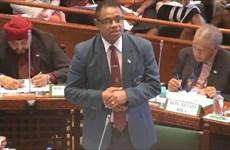 Bộ trưởng Quốc phòng Fiji Timoci Natuva đệ đơn từ chức