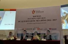 Mang chiến dịch du lịch Hàn Quốc mùa Đông 2016-2017 đến Việt Nam