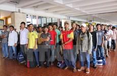 Lần đầu tiên Indonesia trao trả ngư dân Việt Nam trên biển