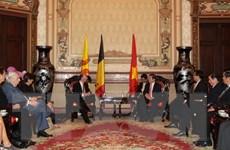 Việt Nam luôn coi trọng quan hệ hợp tác nhiều mặt với Bỉ