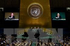 Đại hội đồng Liên hợp quốc bắt đầu tuần thảo luận cấp cao thường niên