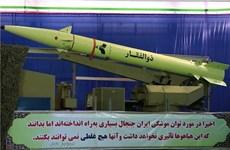 Iran công bố tên lửa đạn đạo tấn công mục tiêu cách xa 750km