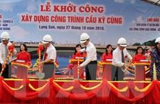 Lạng Sơn xây dựng cầu Kỳ Cùng mới trị giá hơn 400 tỷ đồng
