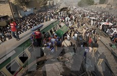 Thương vong tăng mạnh trong vụ hai tàu chở khách đâm nhau tại Karachi
