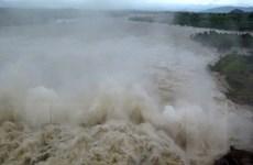 Tám hồ thủy điện của các đơn vị thuộc EVN đang điều tiết xả lũ