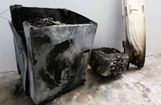 Máy giặt của Samsung phát nổ gây ra hỏa hoạn tại Singapore