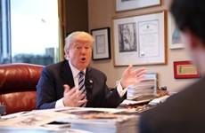 Khám phá văn phòng làm việc của ông Donald Trump ở Manhattan
