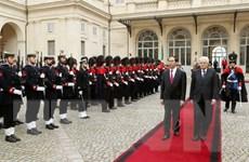 Việt Nam coi trọng phát triển quan hệ Đối tác chiến lược với Italy